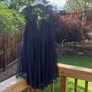 NWT- Black Mini Dress